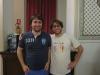 Flavio e Riccardo Filippini, vincitori Campionato a Coppie Allievi 1° anno