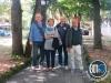 Andrea Buratti, Monica Buratti, Giuseppe Failla e Carlo Mariani (Squadra Pauncz - Circolo del Bridge Firenze)