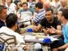 Al tavolo Mustafa Cem Tokay con Antonio Sementa