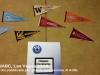 Gli stemmi delle squadre che partecipano al Collegiate Championship in rappresentanza dei loro College
