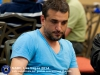 Il giocatore turco Mustafa Cem Tokay, in questo evento compagno di Antonio Sementa