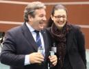 Federigo Ferrari Castellani, consigliere FIGB, e Simona
