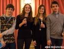 Master u36, squadre, 2°: Giovanni Donati, Giulia Scriattoli, Michela Salvato, Giacomo Percario