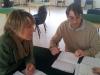 Federica Sani con Riccardo Intonti, assistente tecnico