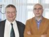 Il Presidente dell'EBL Yves Aubry con Niko Geldhof, responsabile del turismo di Ostenda