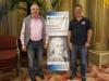Jean-Charles Allavena, Presidente della Federazione Monegasca di Bridge e Pierre Zimmermann