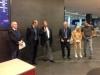 Il Presidente EBL Yves Aubry parla durante la Premiazione
