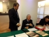 Bernardo Biondo, Massimo Ortensi e Simona Mariani
