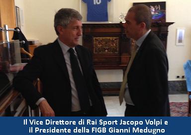 Jacopo Volpi e Gianni Medugno