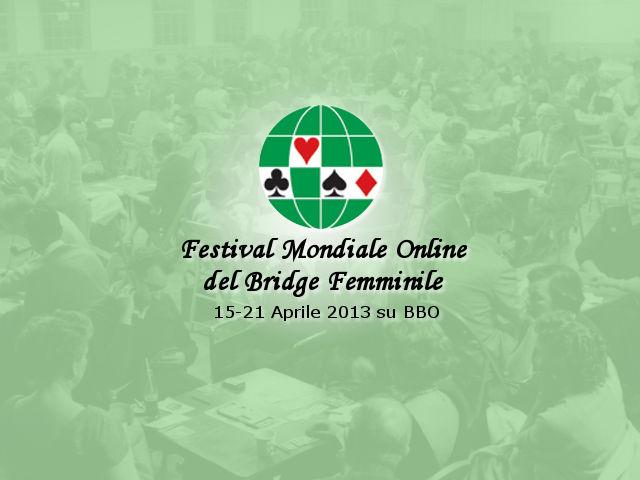 Festival Mondiale Online del Bridge Femminile