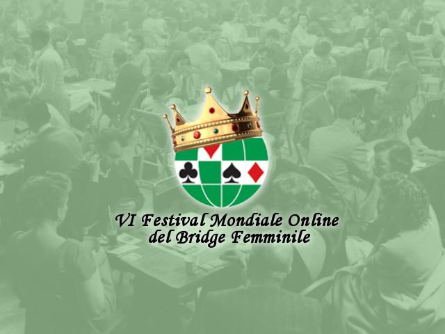 Vincitrici del Festival Online del Bridge Femminile