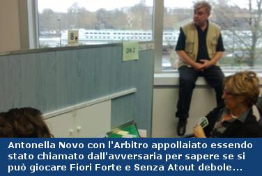 Antonella Novo con arbitro