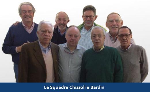 Squadre Seniores Chizzoli e Bardin