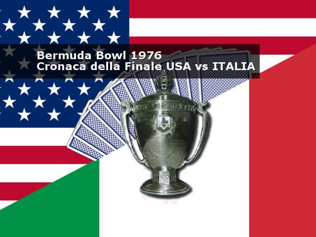 La Bermuda Bowl del 1976