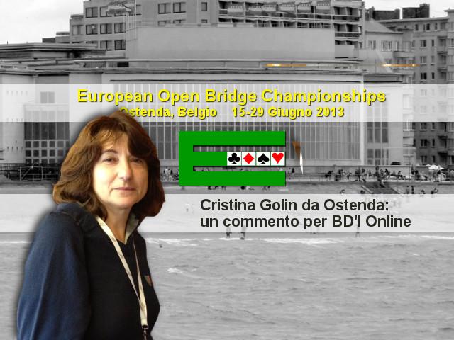 European Open Championships 2013: Cristina Golin da Ostenda