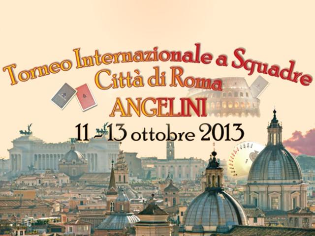 Torneo Internazionale a Squadre Città di Roma 2013