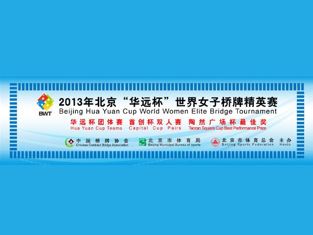 Beijing Hua Yuan Cup – World Women's Elite Bridge Tournament