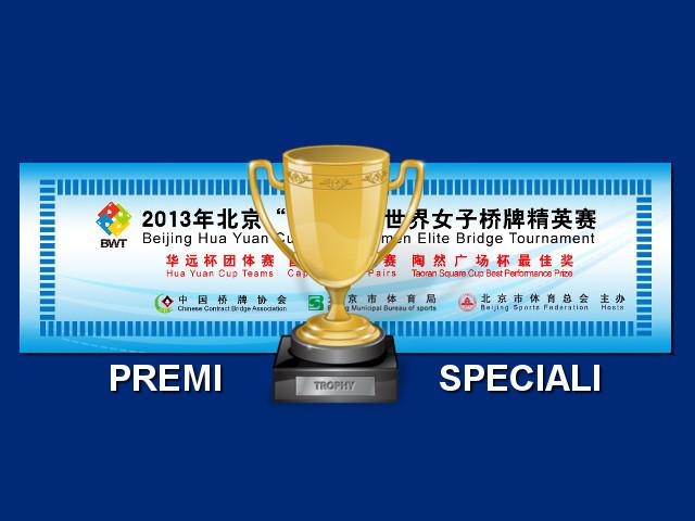 """Beiking Hua Yuan Cup: il premio """"miglior dichiarante"""""""