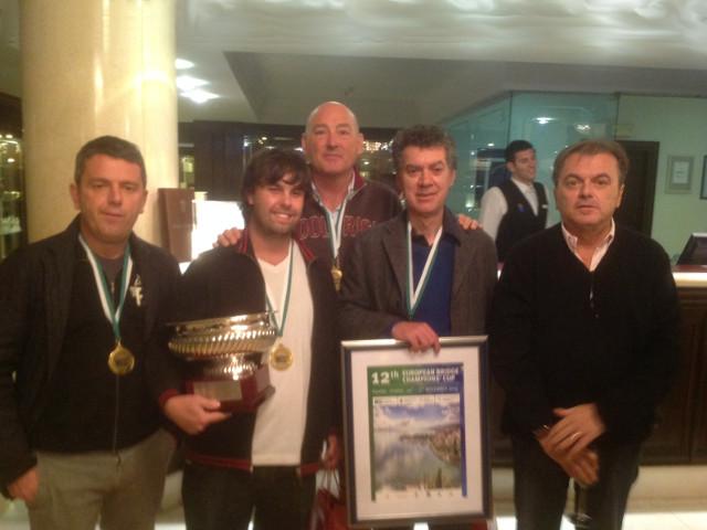 Allegra vince anche la European Champions' Cup 2013!