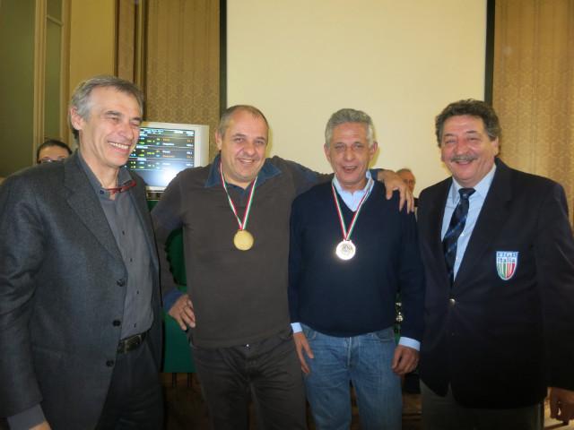 Colotto-Pochini: primi vincitori del Campionato a Coppie IMP