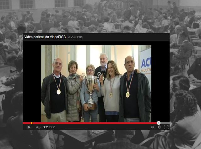 Video della vittoria alla Coppa Italia Mista 2013