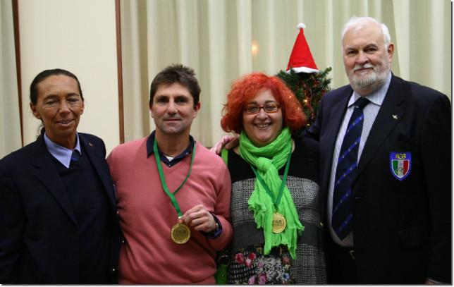 Massimo Fuzzi e Simonetta Bigi