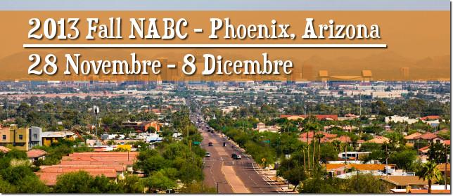 2013 NABC Phoenix