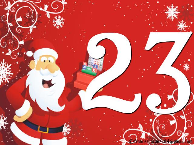 Calendario dell'Avvento – 23 Dicembre