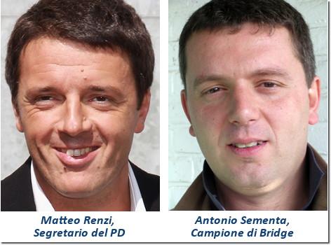 Matteo Renzi e Antonio Sementa