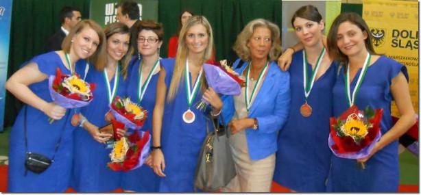 bronzo nazionale italiana femminile under 26 di bridge