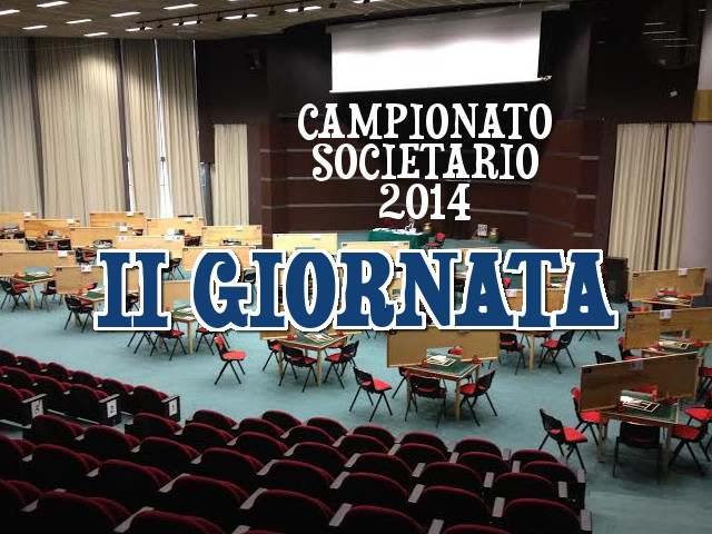 Campionato Societario a Squadre: seconda giornata