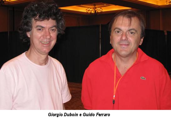 Guido Ferraro e Giorgio Duboin
