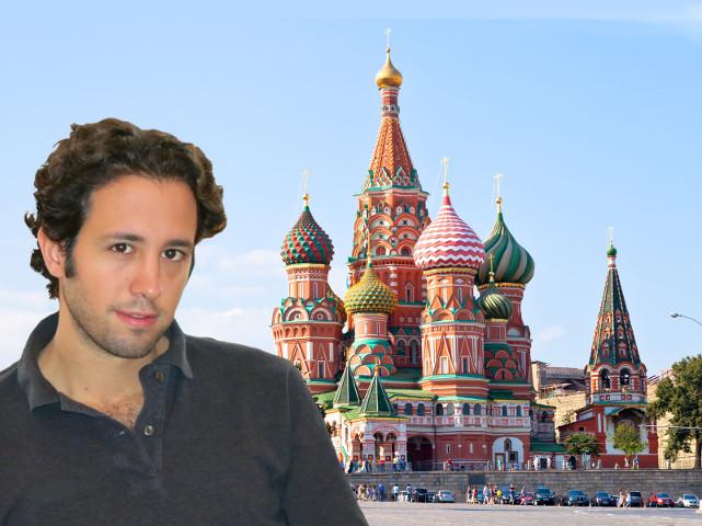 In Russia con Andrea Manno