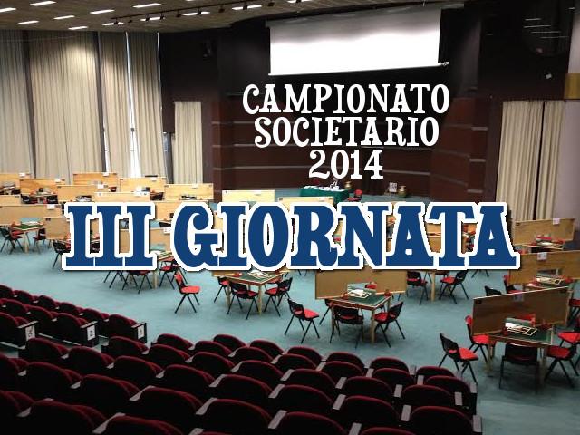 Campionato Societario a Squadre: terza giornata