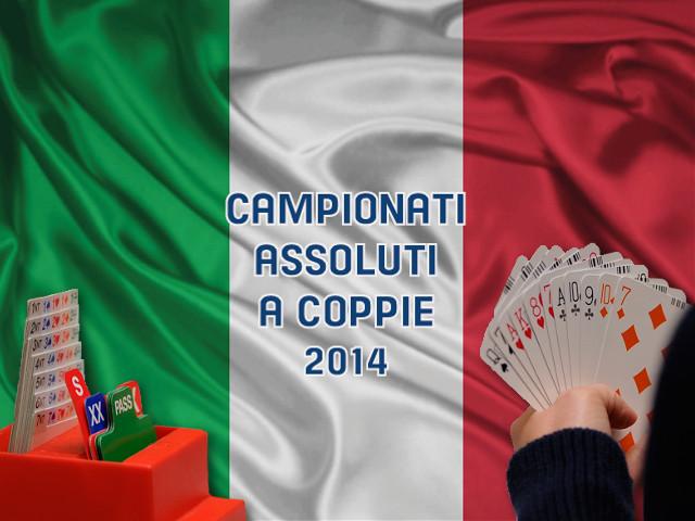 I Campioni Assoluti a Coppie 2014