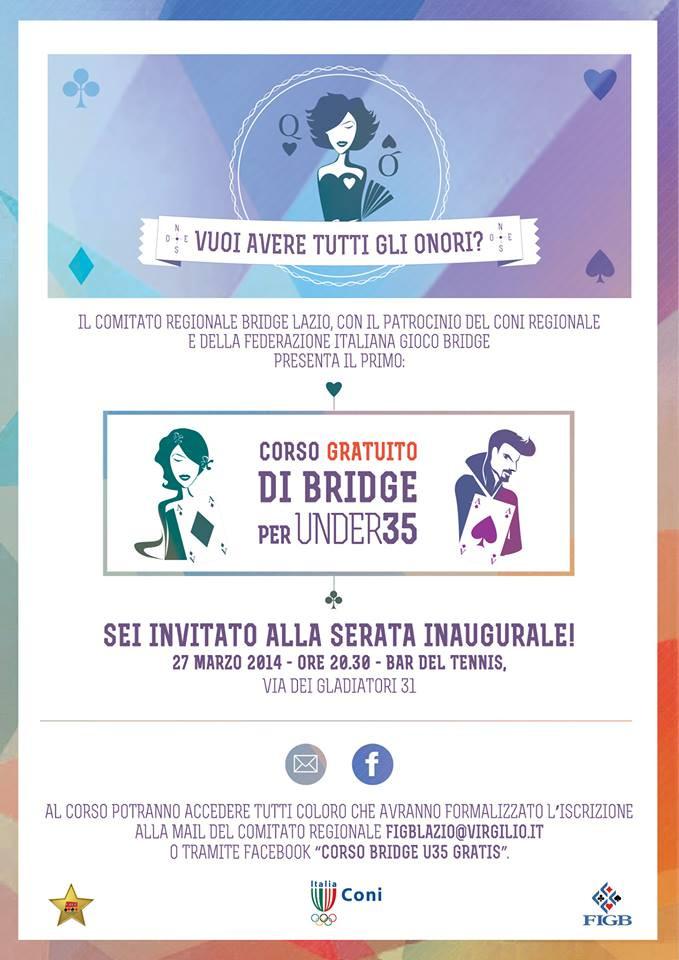 Corso di bridge per giovani under 35