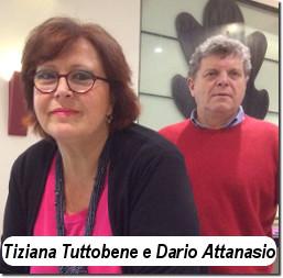 Tiziana Tuttobene e Dario Attanasio