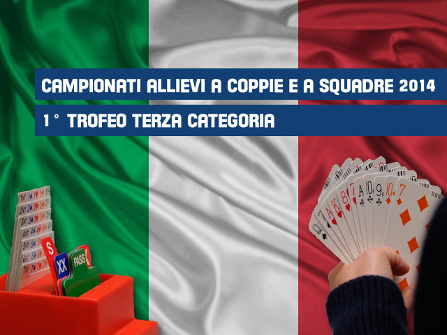 Trofeo Terza Categoria e Campionati Allievi 2014