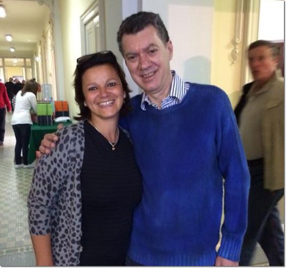 Laura Nante e Giorgio Duboin