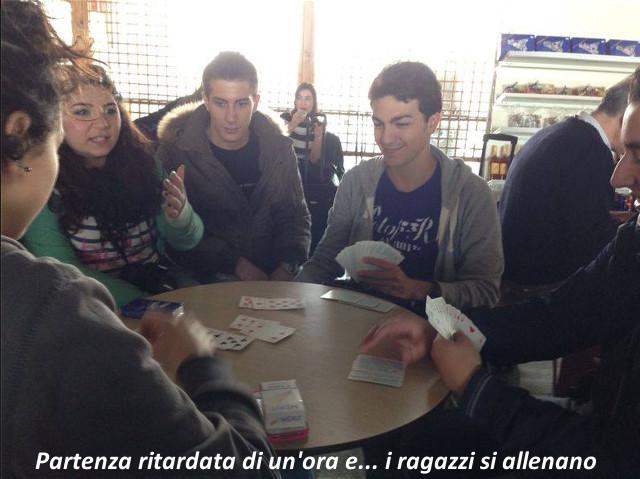 I ragazzi di EtnaBridge a Riccione