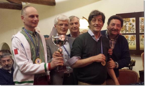 Veneto: Campionato Regionale a Squadre Allievi/terza categoria 2014