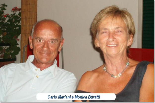 Carlo Mariani e Monica Buratti