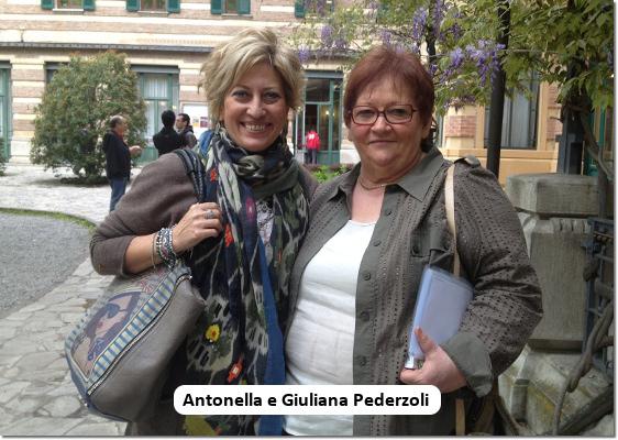 Antonella Novo e Giuliana Pederzoli