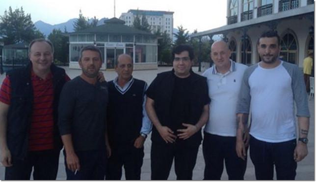 Squadra Angelini in Turchia