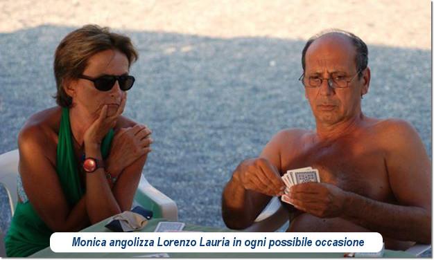 Monica Buratti e Lorenzo Lauria