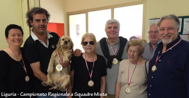 Liguria, Campionato Regionale a Squadre Miste