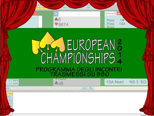 EC2014: Incontri su BBO di Giovedì 26 Giugno