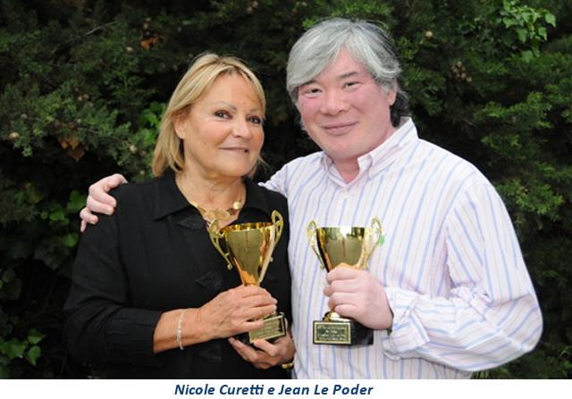 Nicole Curetti e Jean Le Poder