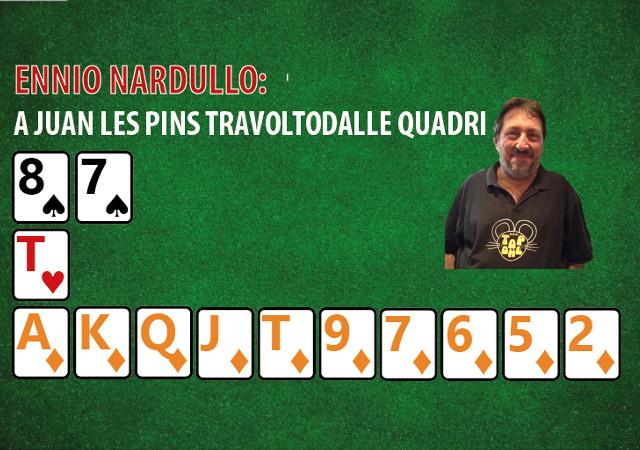 Ennio Nardullo: ho giocato il Coppie Miste a Juan Les Pins e sono stato travolto dalle Quadri