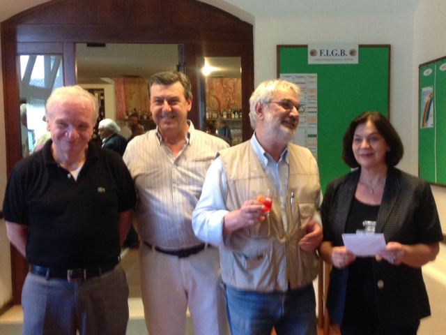 La Festa d'inizio Estate a Padova Bridge: i vincitori